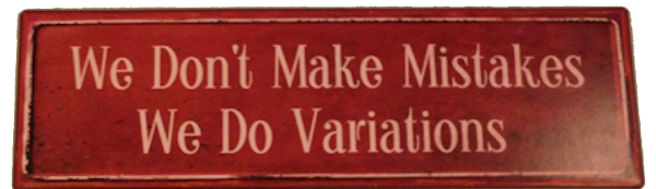 Austin Social Dance Studio Motto: : We Don't Make Mistakes. We Do Variations.